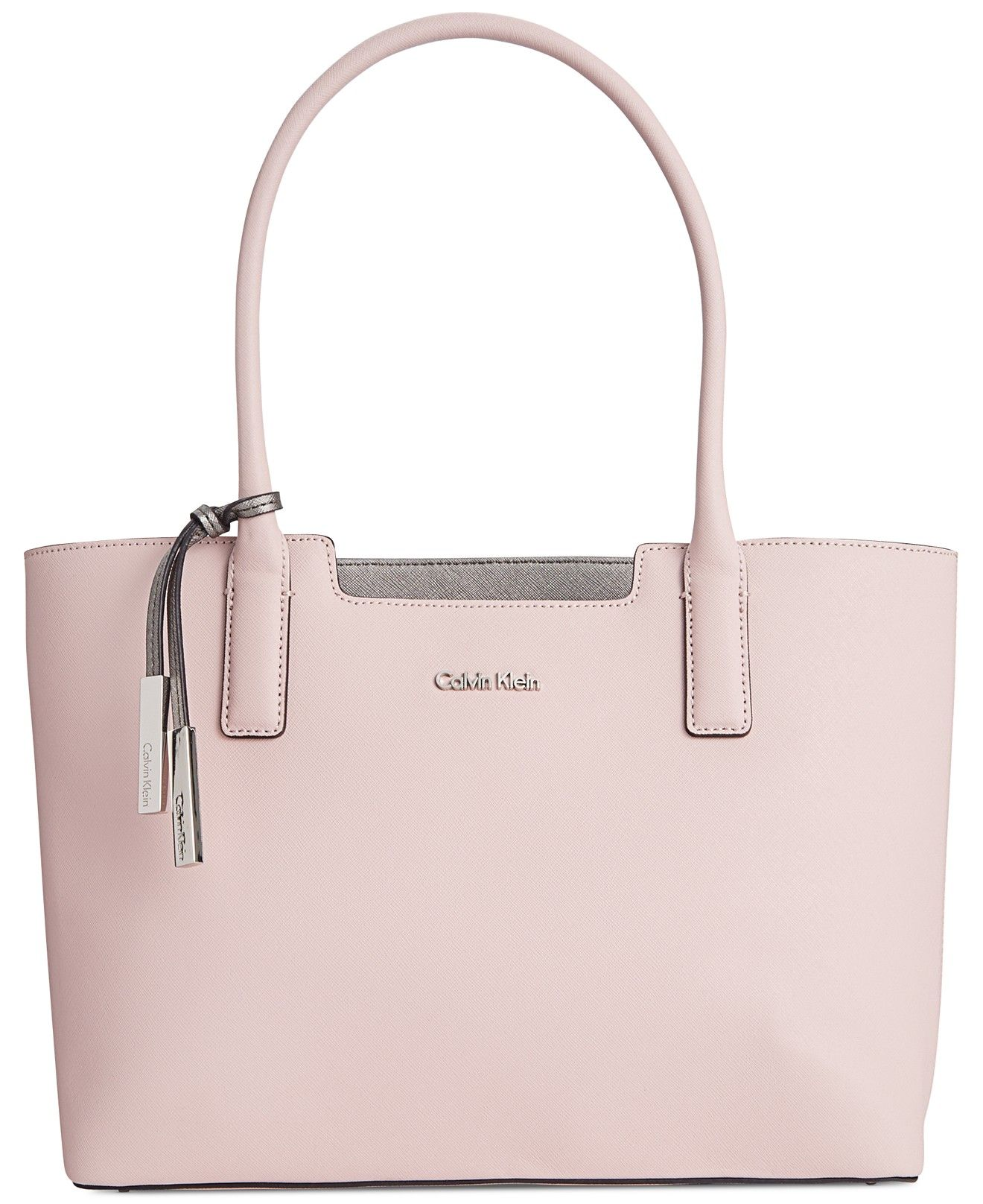 9a50b6f8185 Calvin Klein Saffiano Leather Tote - Calvin Klein - Handbags & Accessories  - Macy's