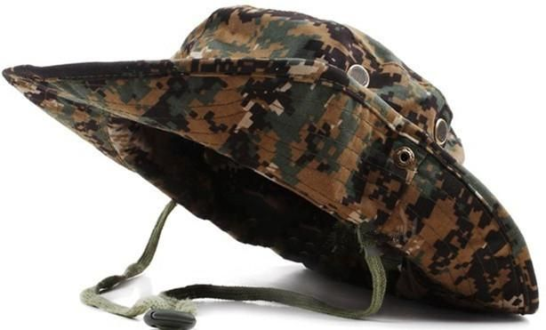 aa037aa9e6a98 Camouflage Hunting Fishing Full Brim Hat