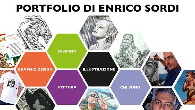 Enrico Sordi: Finalmente il mio Portfolio  è online. / Finally E...