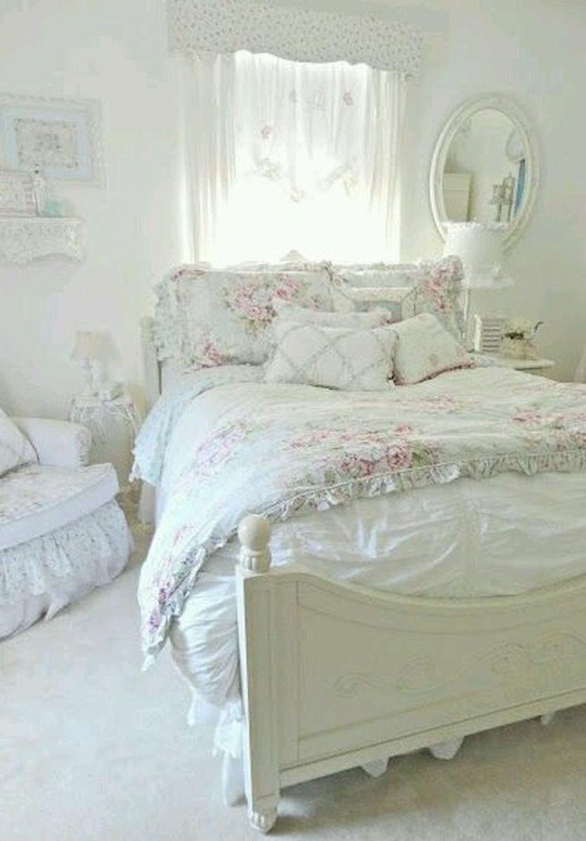 Romantic Shabby Chic Bedroom Decorating Ideas (14) | deko | Camere ...