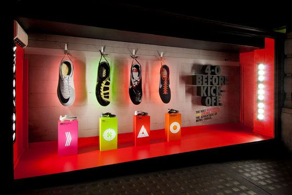 Nike Booth #rainbow #exhibit #design