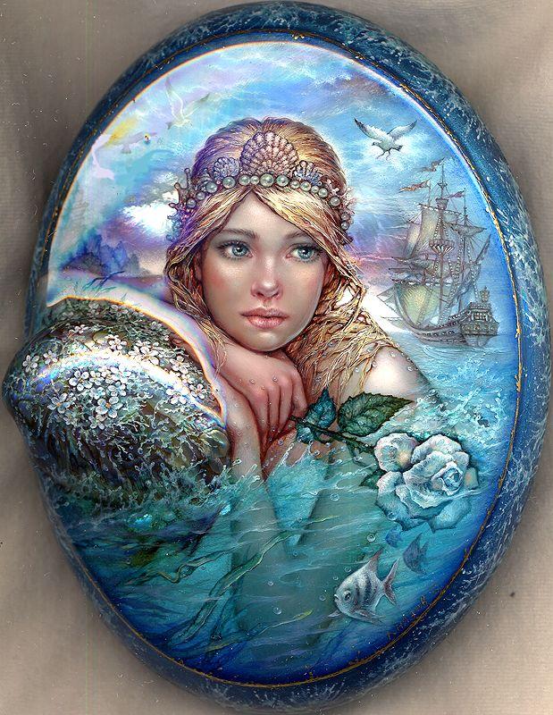 Mermaid by KnyazevSergey.deviantart.com on @DeviantArt