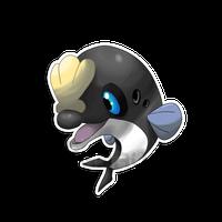 The Porpoise Fakemon by Neliorra   New pokemon, Pokemon ...