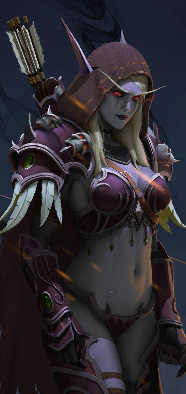 Sylvanas World of Warcraft by gantzu on DeviantArt