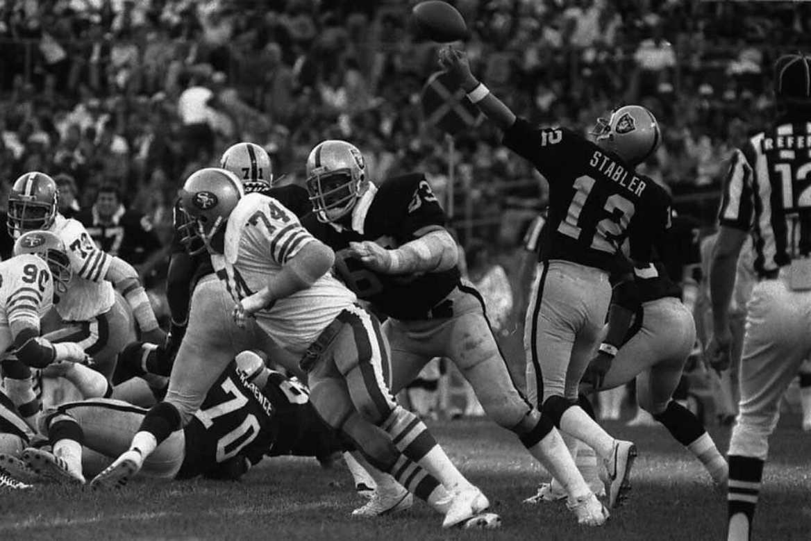 Ken Stabler vs the 49ers in 1979 in 2020 Nfl, Football
