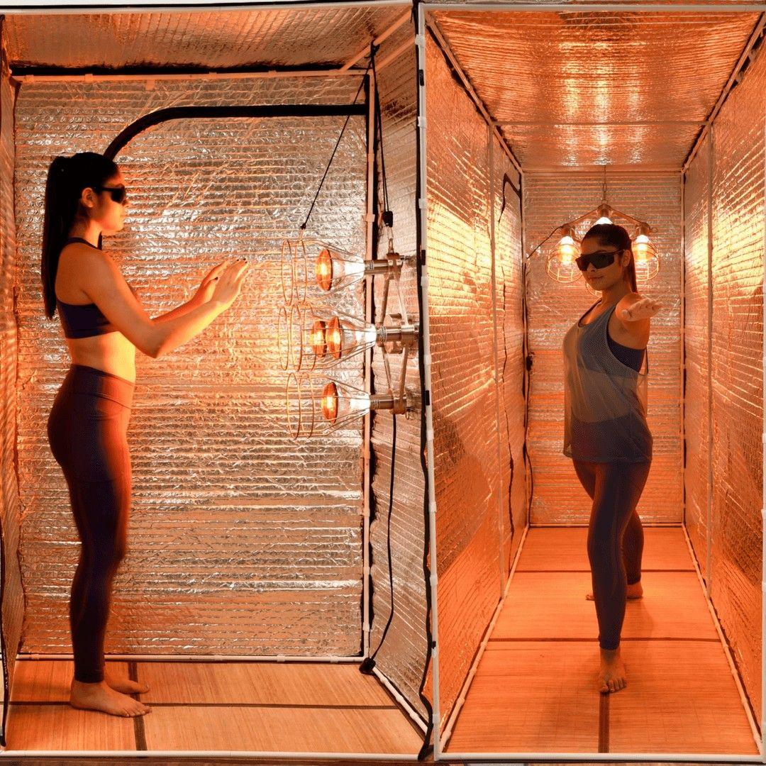 Home near infrared sauna hot yoga studio sauna benefits