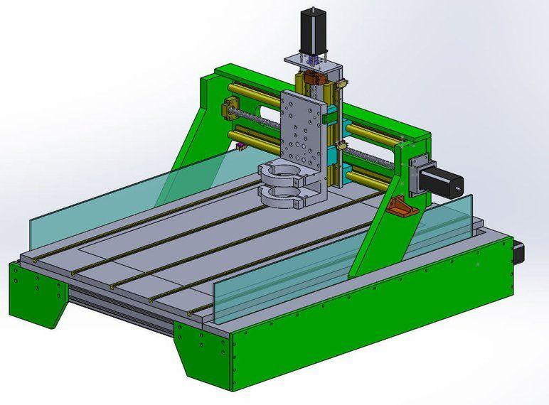 Medium Sized DIY CNC 20 Diy cnc, Cnc, Working area