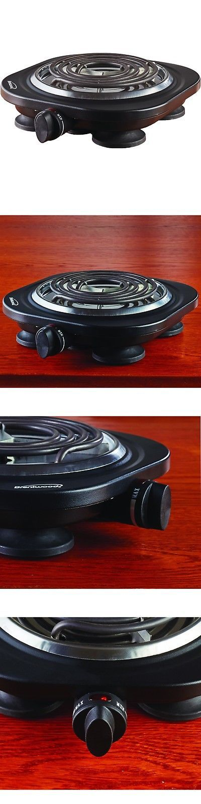 7c35077b79c Burners and Hot Plates 177751  1000W Single Burner Electric Black Portable  Hot Plate Countertop Camping Stove -  BUY IT NOW ONLY   17.07 on eBay!