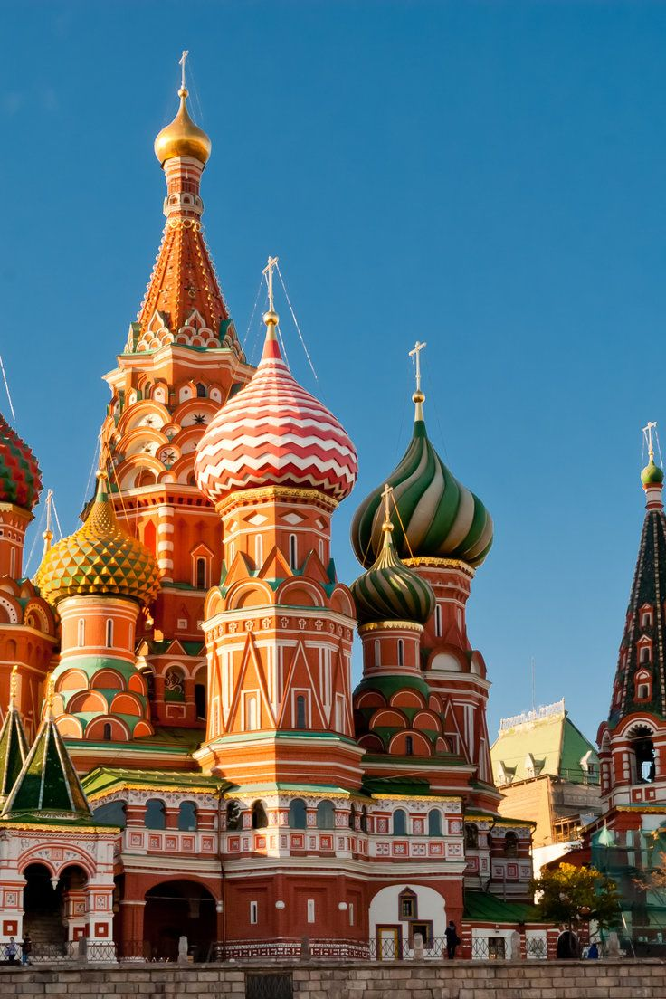 Saint Basil S Cathedral Moscow St Basils Cathedral Cathedral Places To Travel