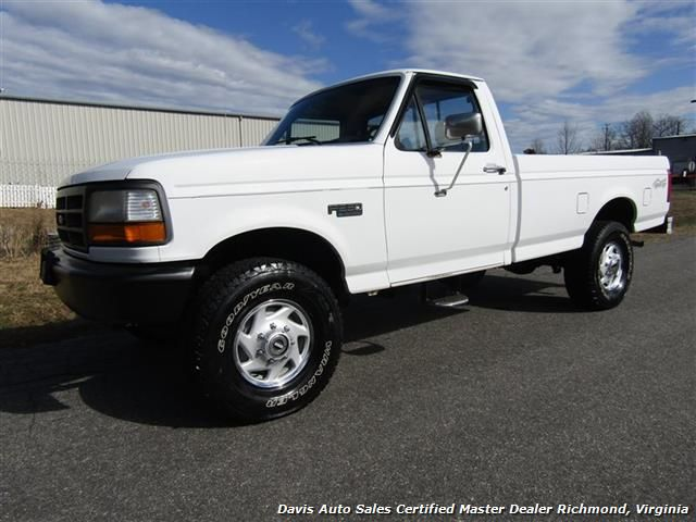 1993 Ford F 250 Xl Super Duty Classic Obs 4x4 Regular Cab Long Bed