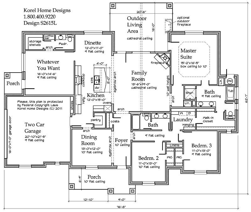 House Plans by Korel Home Designs Floor plans Pinterest Plans - plan de maisons modernes