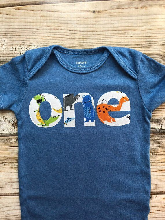 Dinosaur Boy First Birthday Party Shirt Dino Theme One D