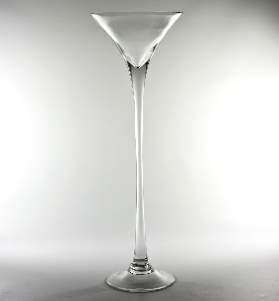 24 Cheap Price On Discounted Tall Glass Martini Vase At Wholesale Flowers