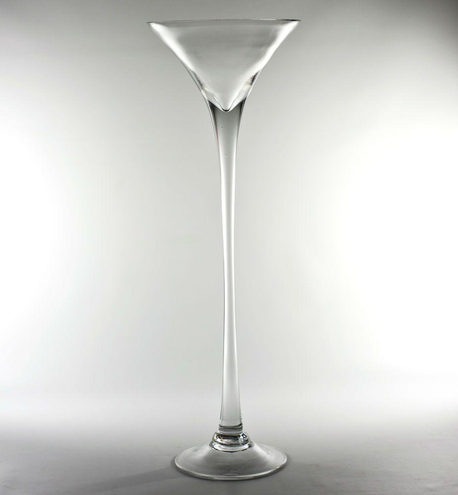 Tall Glass Martini Vase Tall Glass Vases Glass Flower Vases