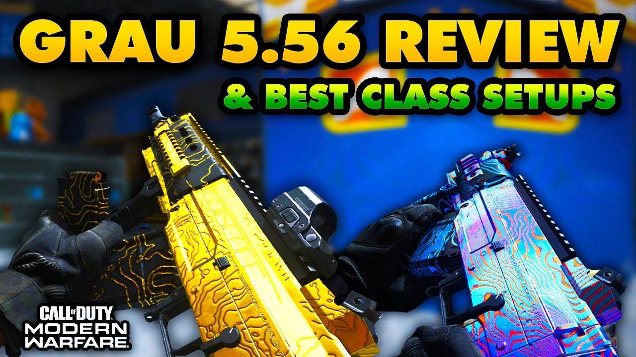 Grau 5 56 Review Best Class Setups Gold Camo Gameplay Modern Warfare Season 2 In 2020 Modern Warfare Warfare Gameplay