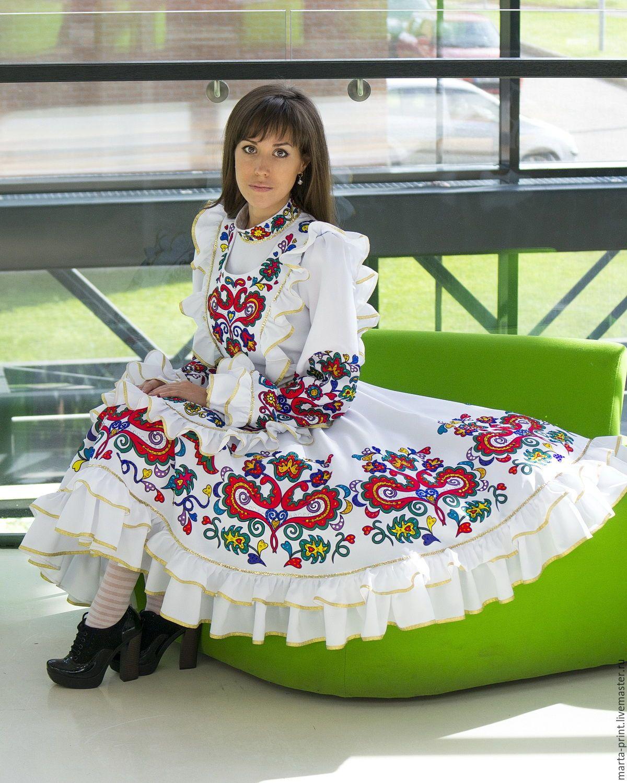 Выкройки костюмов татарских фото 917