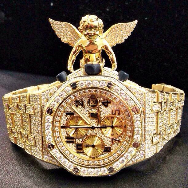 Iced Out Diamond Watch   Pendant  6e17169722