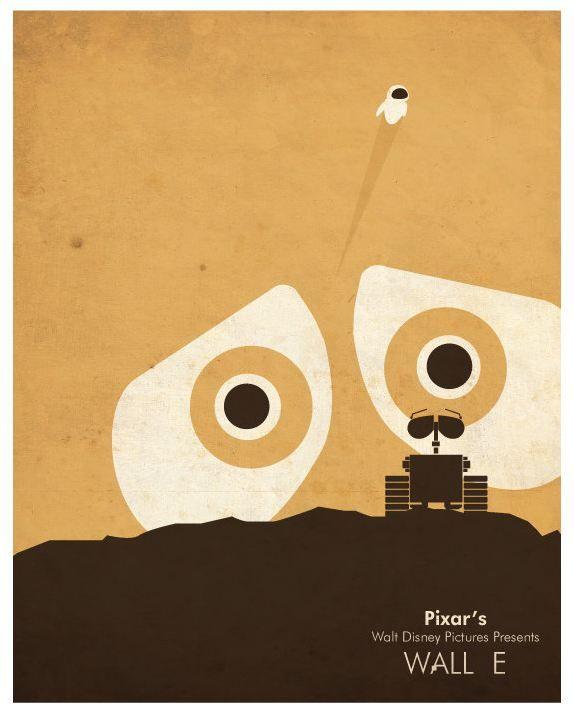 Wall-E - movie poster
