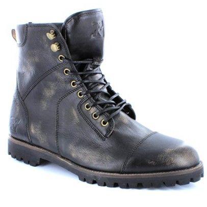 Wild Rhino Boots-Military-Black Saga