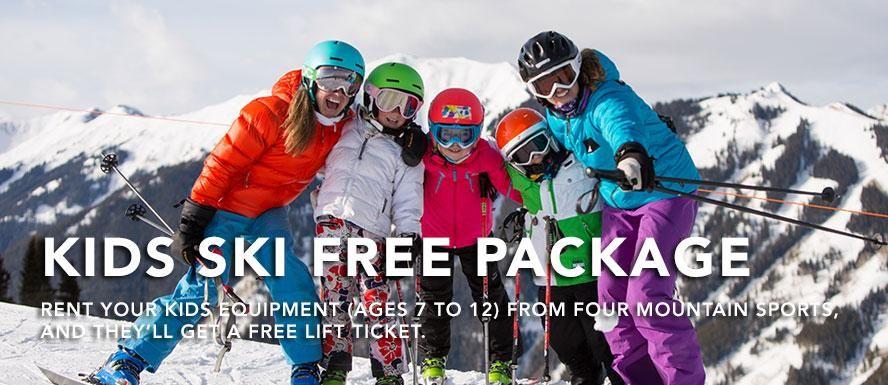 Kids Ski & Stay Free in Aspen Snowmass. Kids age 712 only