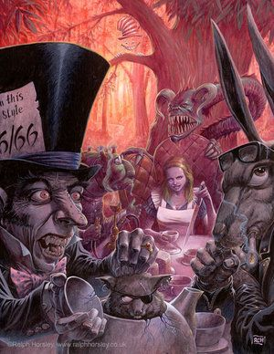 Evil Alice in Wonderland