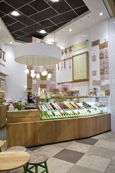 Pastry Shop Interior Design