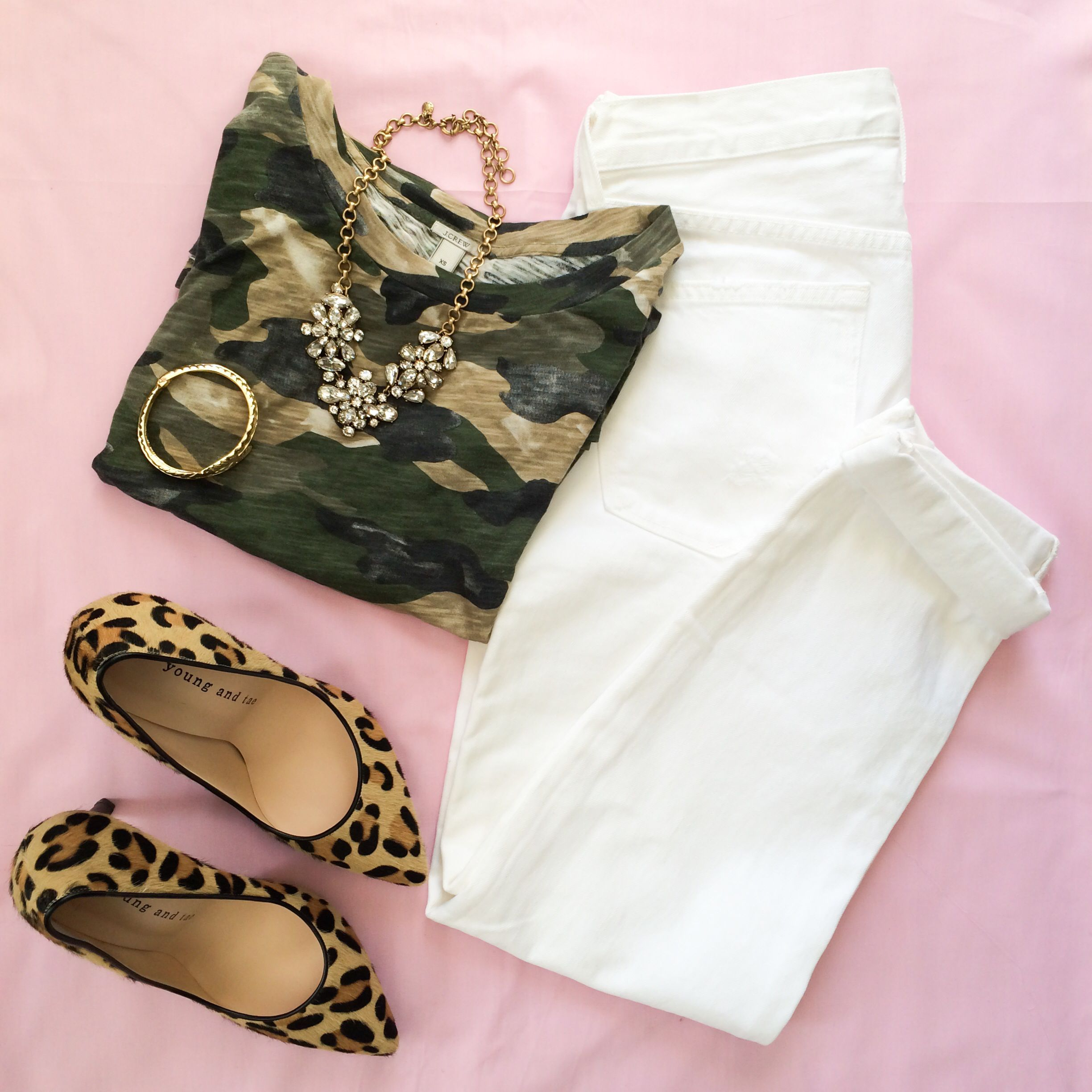 Camo and leopard heels! My Fash Avenue