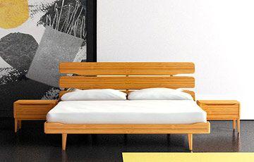 Tentai Bamboo Platform Bed Tempat Tidur Tidur Tempat