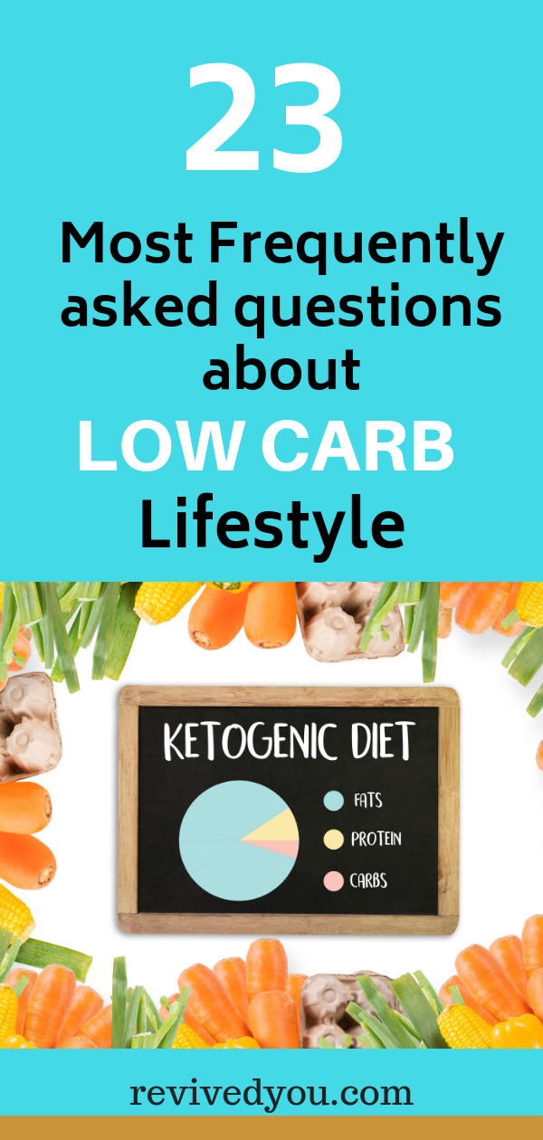 23 Most Frequently Asked Questions About Low Carb Lifestyle