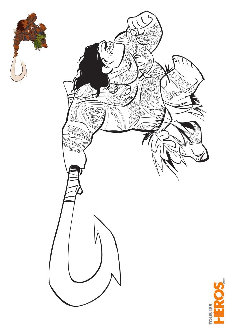 Pin By Ch On Coloriage Moana Coloring Pages Disney