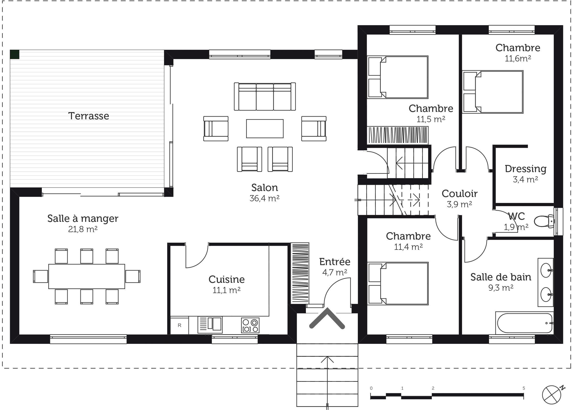 Maison Plan Avec Sous Sol Basement Remodeling Remodel How To Plan
