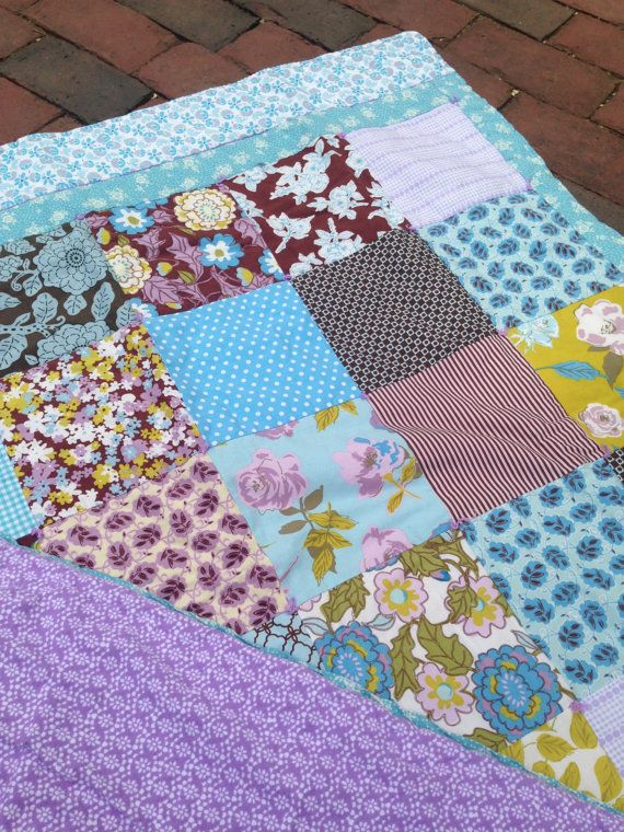 Baby Girl Crib Quilt by babyburritoquilts