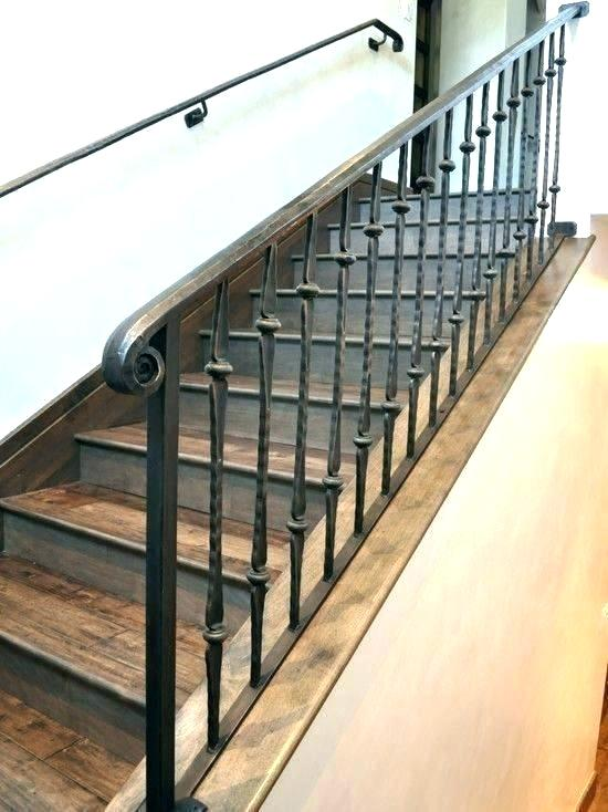Staircaserailings In 2020 Iron Staircase Railing Wrought Iron | Iron Spindles Home Depot | Ole Iron Slides | Wm Coffman | Stair Parts | Oil Rubbed | Deck