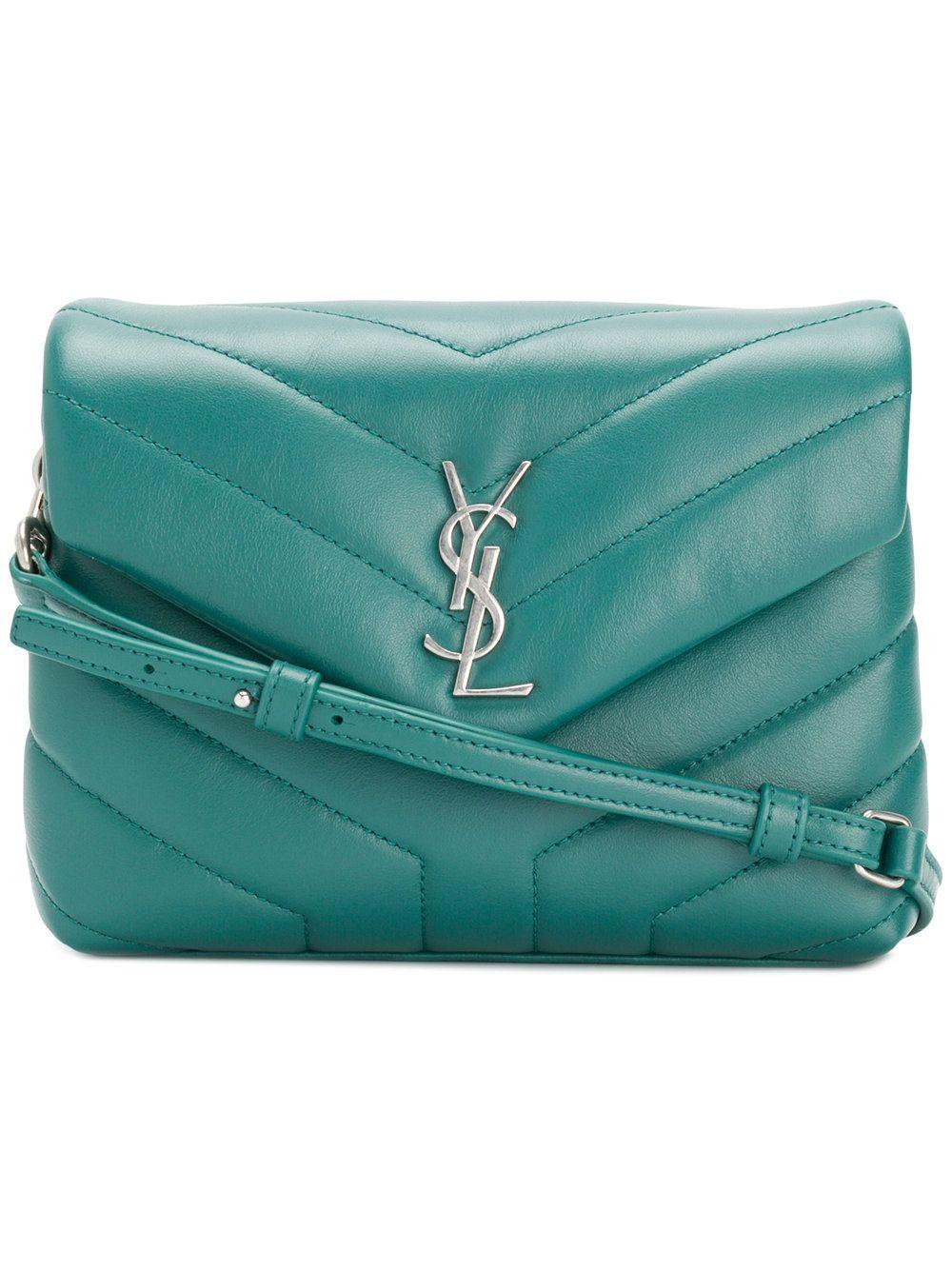 Discounts For Sale Lou Lou shoulder bag - Green Saint Laurent Best Sale Cheap Online Free Shipping Buy Cheap Purchase Best Place To Buy Online 1CsmH