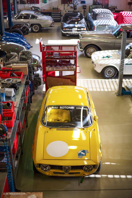 A Five Man Team In Hamburg Is Building Some Of The World S Best Alfa Romeos Alfa Romeo Alfa Romeo Cars Romeo