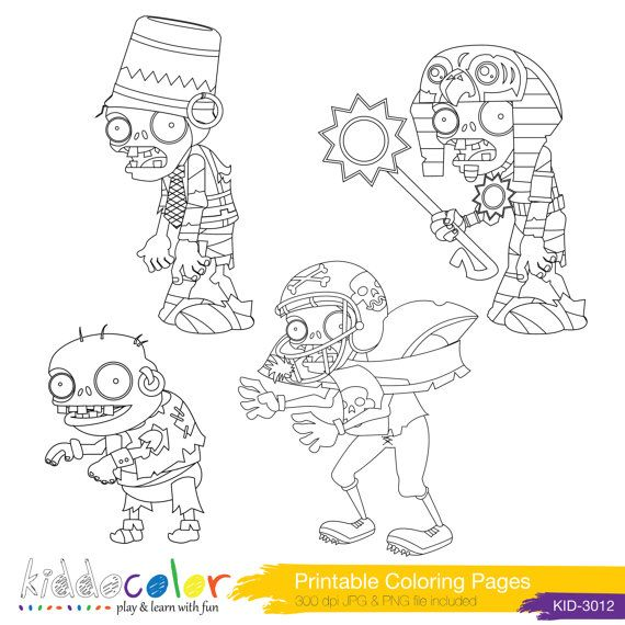 Plants vs Zombies Coloring Pages &Hero Lego Digital by ...