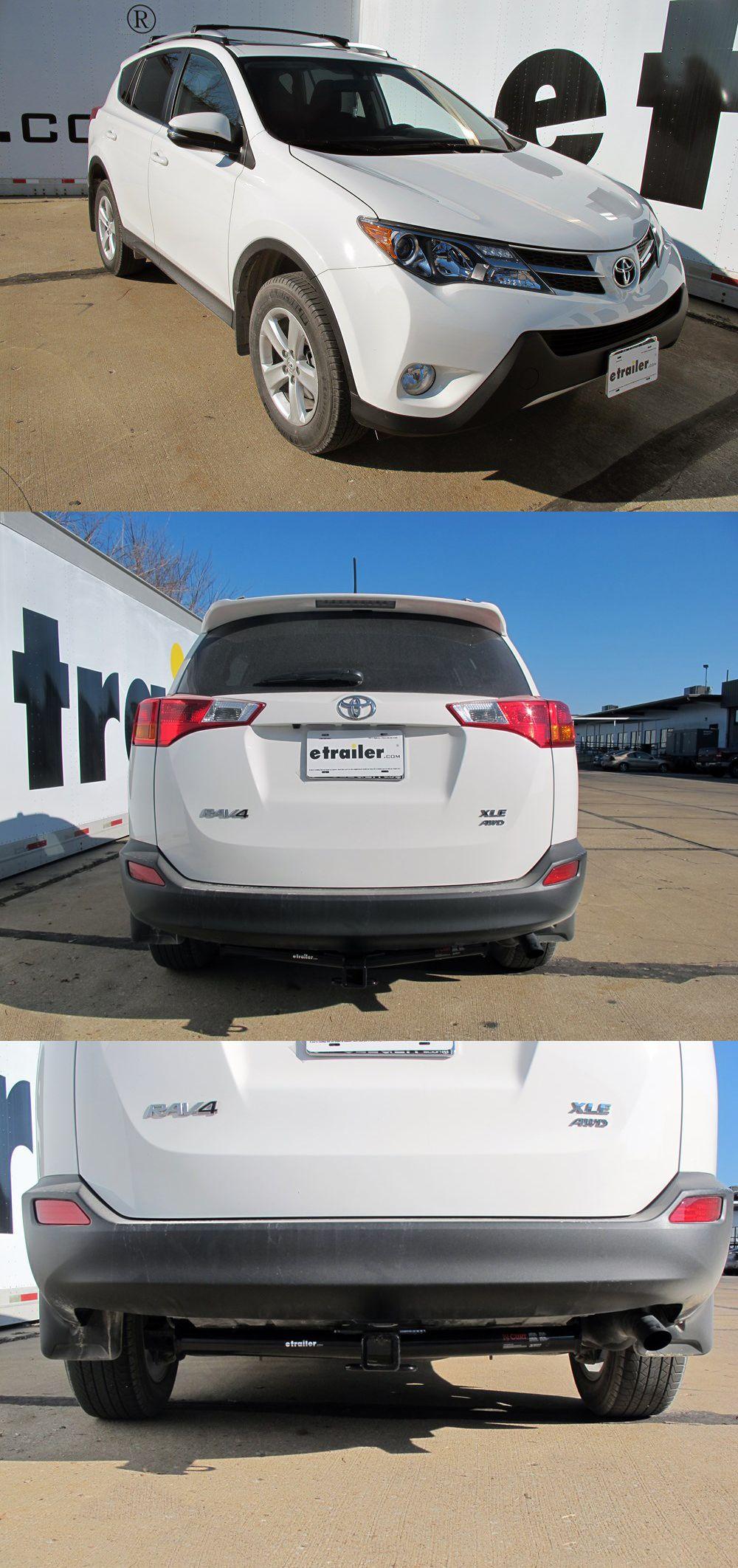 2014 Toyota Rav4 Trailer Hitch Curt Trailer Hitch Trailer Hitch Receiver Trailer Hitch Installation