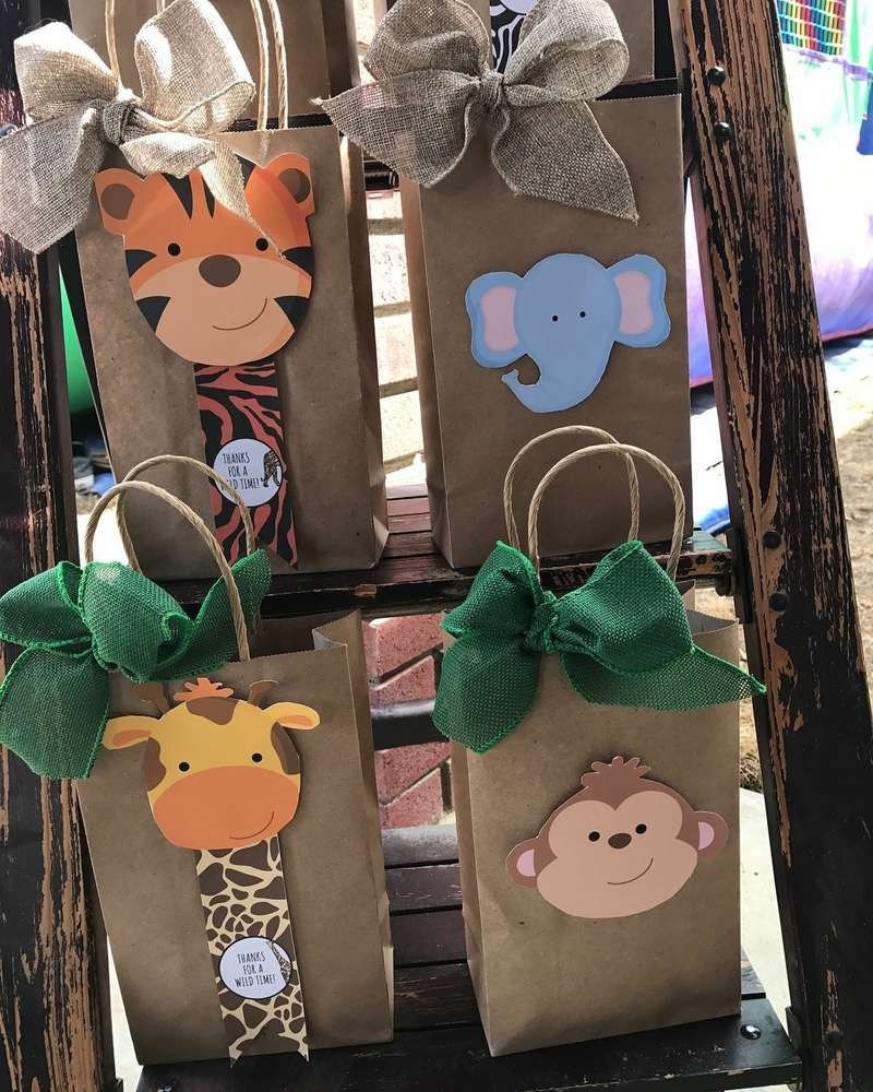 Safari/jungle Birthday Party Ideas | Photo 2 of 24 | Catch My Party