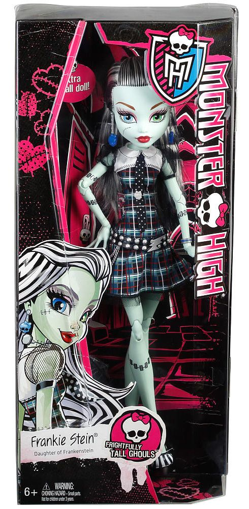 Monster High Frightfully Tall Ghouls Frankie Stein In Box Monster - copy monster high gooliope jellington coloring pages