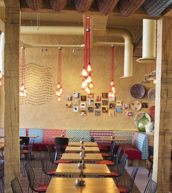 Eclectic Cafe 2017: Nando's Restaurant By B3 Designers