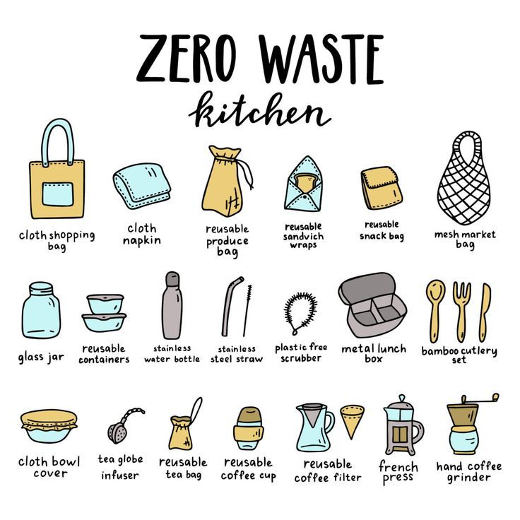 5 Simple Tips To Create A Hassle-Free Zero Waste Kitchen #kitchentips