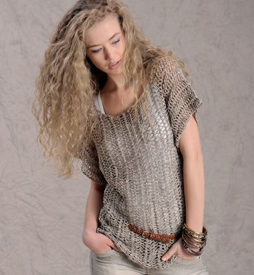 Haakpatroon Trui met korte mouwen | Breien en haken