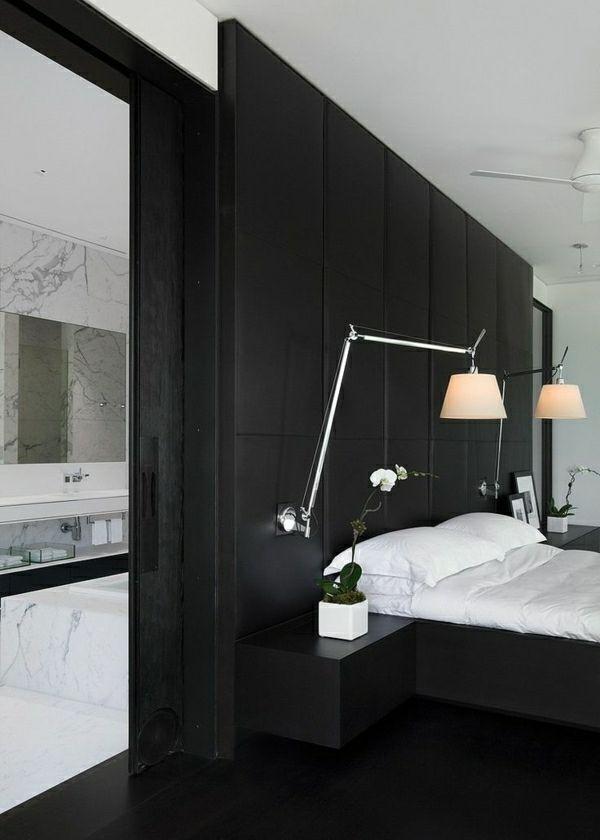 lampe a fixer sur tete de lit design de maison design. Black Bedroom Furniture Sets. Home Design Ideas