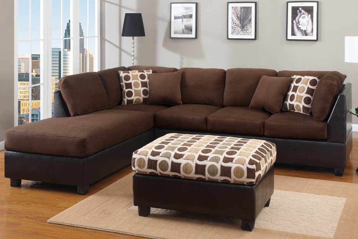 Plush Sectional Sofas - OC Furniture Warehouse, F7401 Only $500