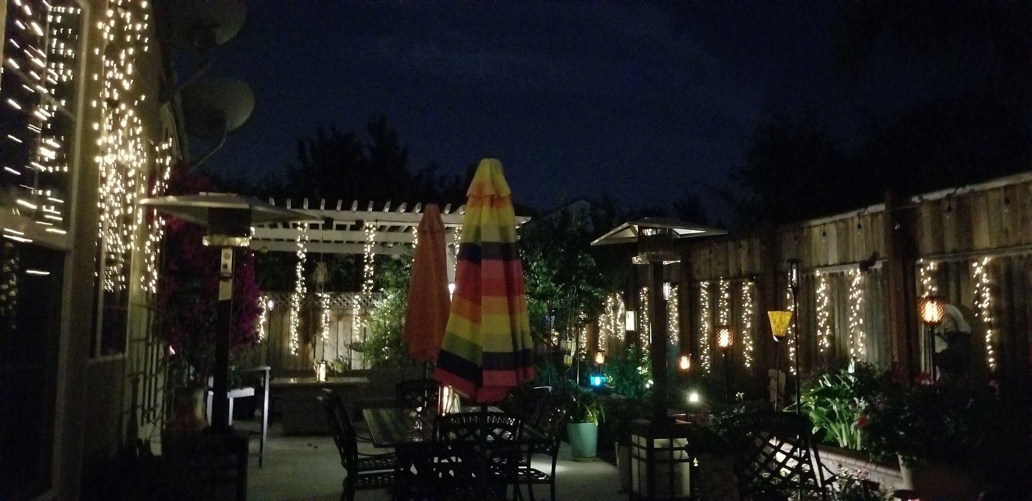 Nightlife en mi casa Night life, Outdoor living, Fun slide