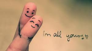 je suis tout à toi !