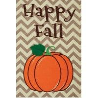 fall garden flags. Burlap Pumpkin Applique Fall Garden Flag With And Embroidered Elements. This Is A Beautiful Flags