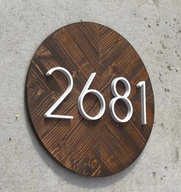 Address Plaque Vertical Vertical House Numbers Modern House Numbers Vertical House Number Plaque House Number Sign Vertical House Number Plaque House Number Sign Address Plaque