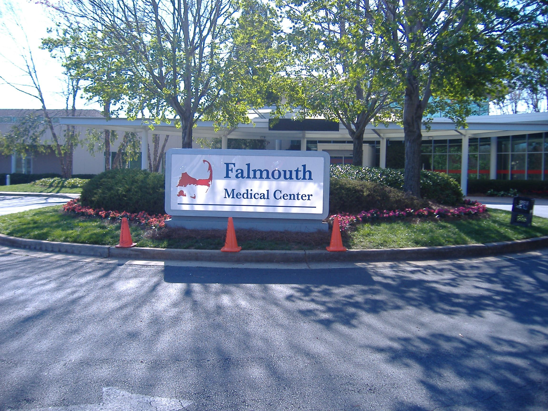 The Marquee May Say Falmouth Medical Center But It Sure Looks A