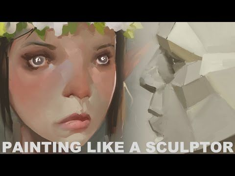 """Painting like a Sculptor"" by Sinix*   • Blog/Website 